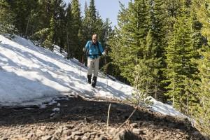 Yellowstone: naar Mt Washburn
