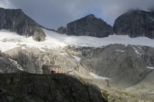 De schitterende gelegen Richterhütte