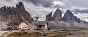De beroemde Drei Zinnen in de Dolomieten