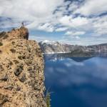 Crater Lake N.P., Oregon, het blauwste meer van Amerika