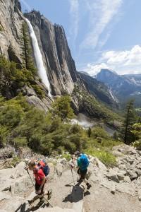 Yosemite Falls in het gelijknamige N.P.