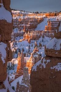 Het wintersprookje dat Bryce Canyon heet